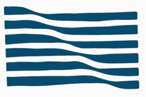 flag in blue