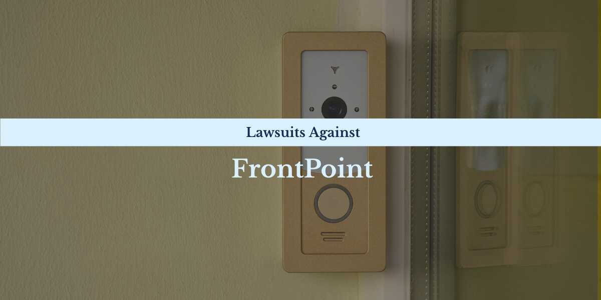 Recent and notable lawsuits against FrontPoit