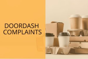 doordash complaints