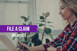 Uber Eats File a Claim Featured Image